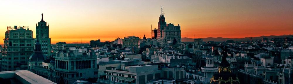 Madrid centrum